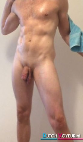 Out of the shower