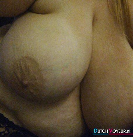Erg grote borsten